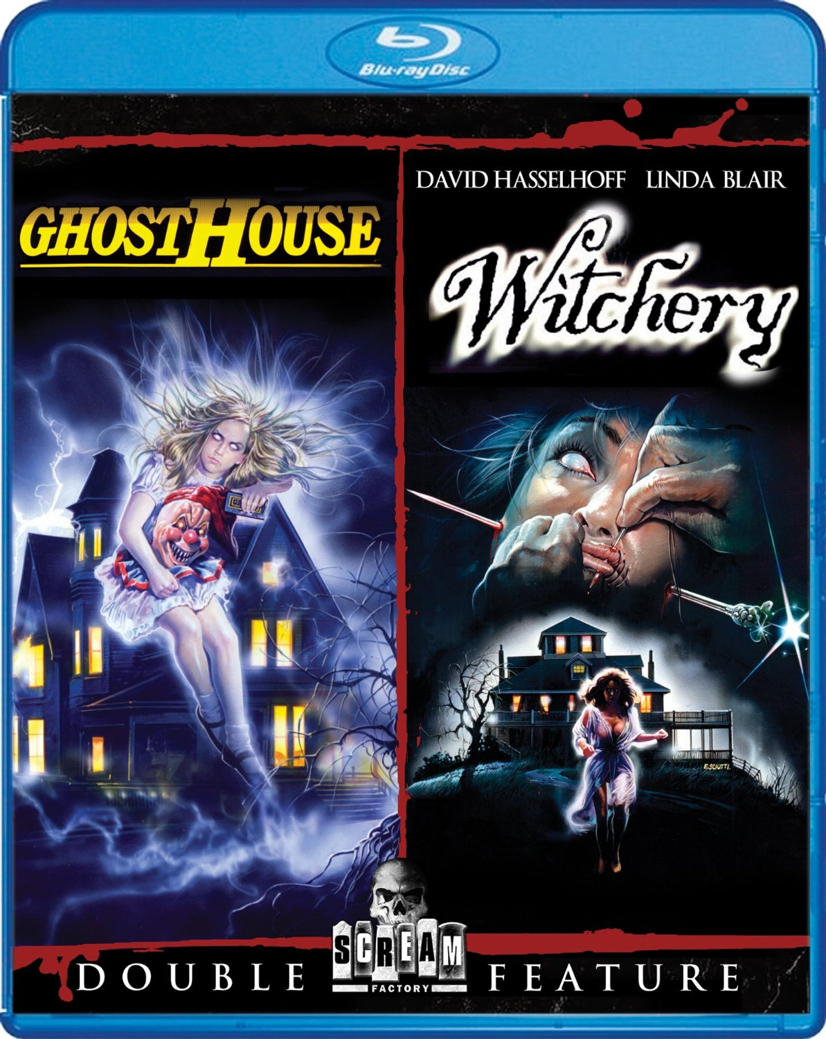 Ghosthouse/Witchery (Double Feature) Blu-ray | DVD NEWS FLASH: THE