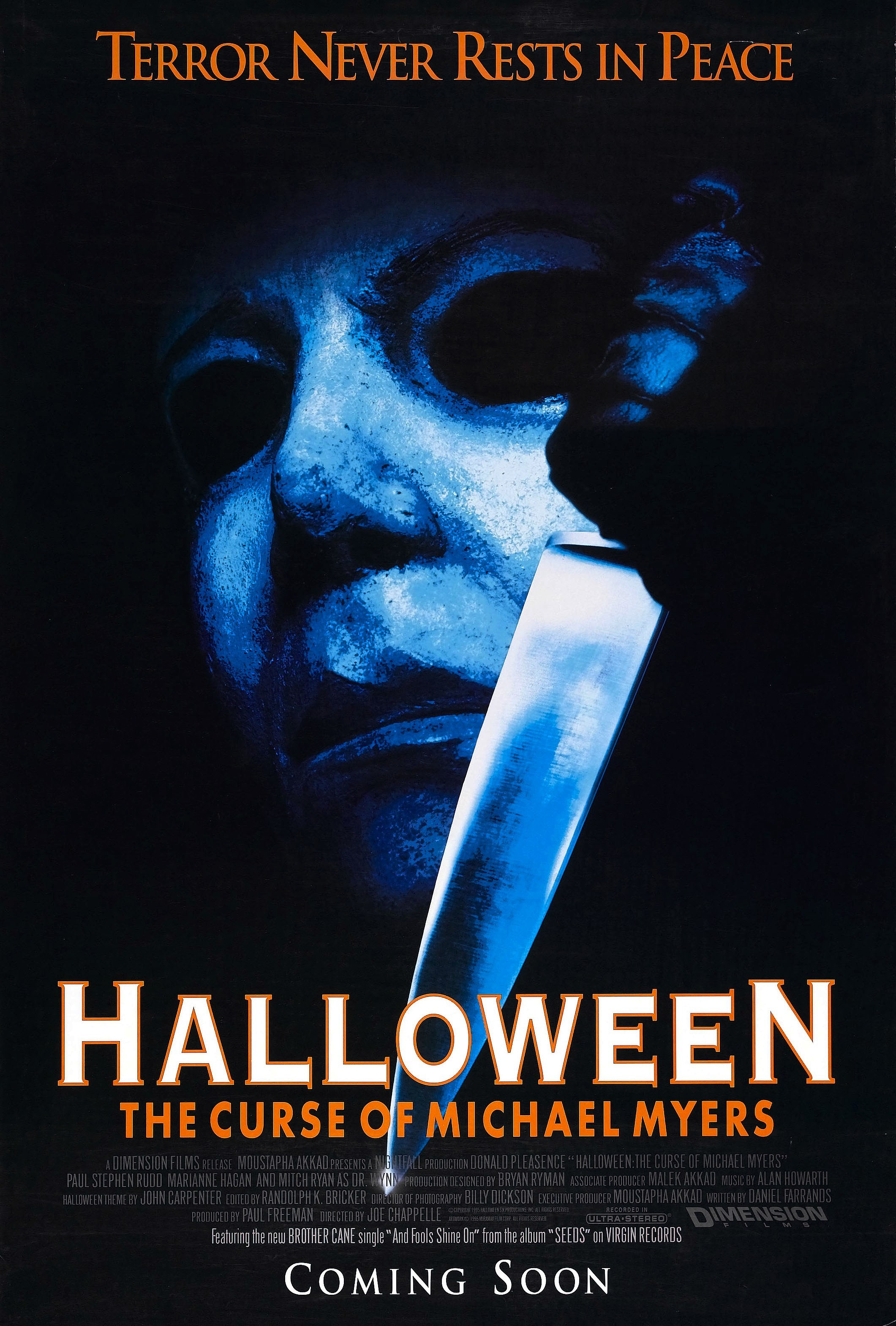 halloween 6: the curse of michael myers (1995, producer's cut) blu