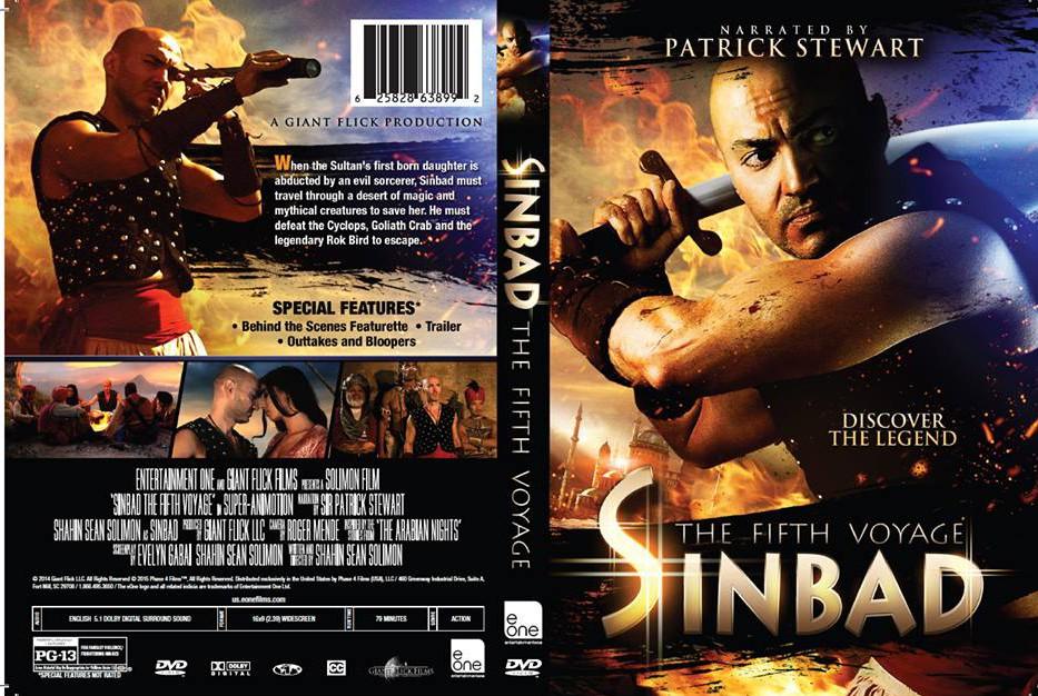 cd14e318c1 Sinbad: The Fifth Voyage (2014) DVD | DVD NEWS FLASH: THE REVIEWS