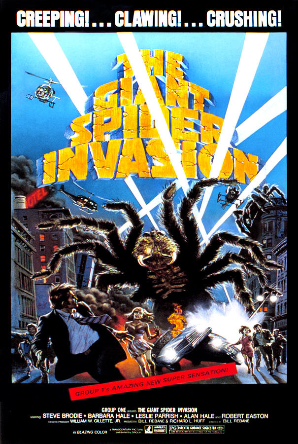 The Giant Spider Invasion 1975 Blu Ray Vci Entertainment