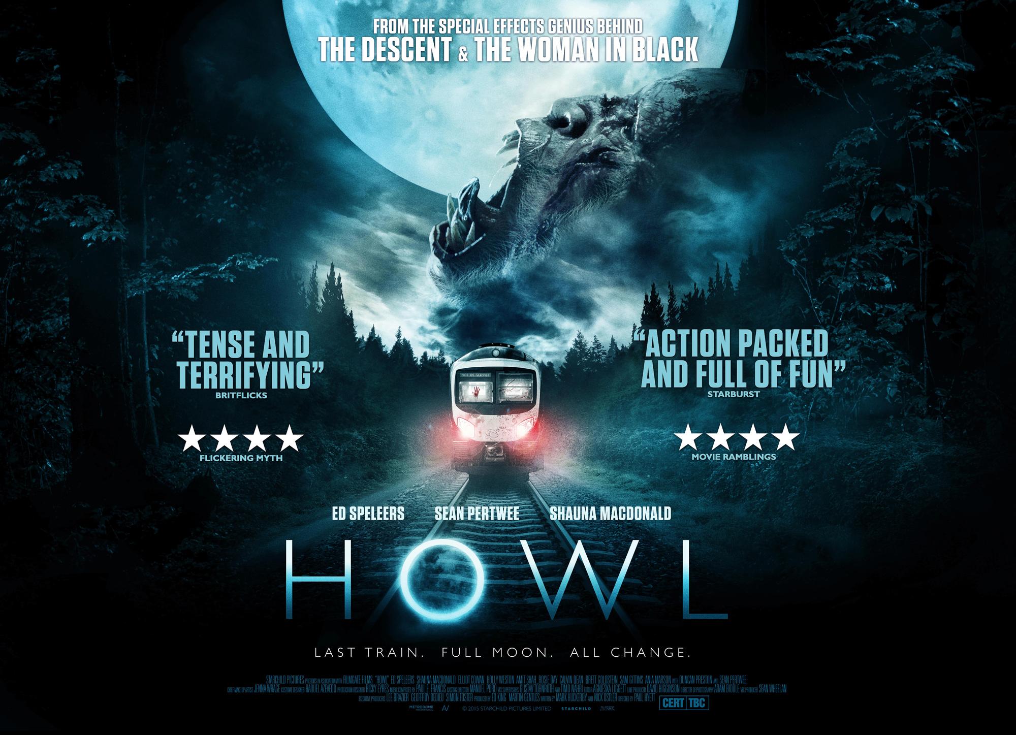Howl (2015) U.S. Blu-ray | DVD NEWS FLASH: THE REVIEWS