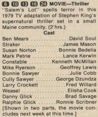 1979 Salem's Lot TV Guide Listing
