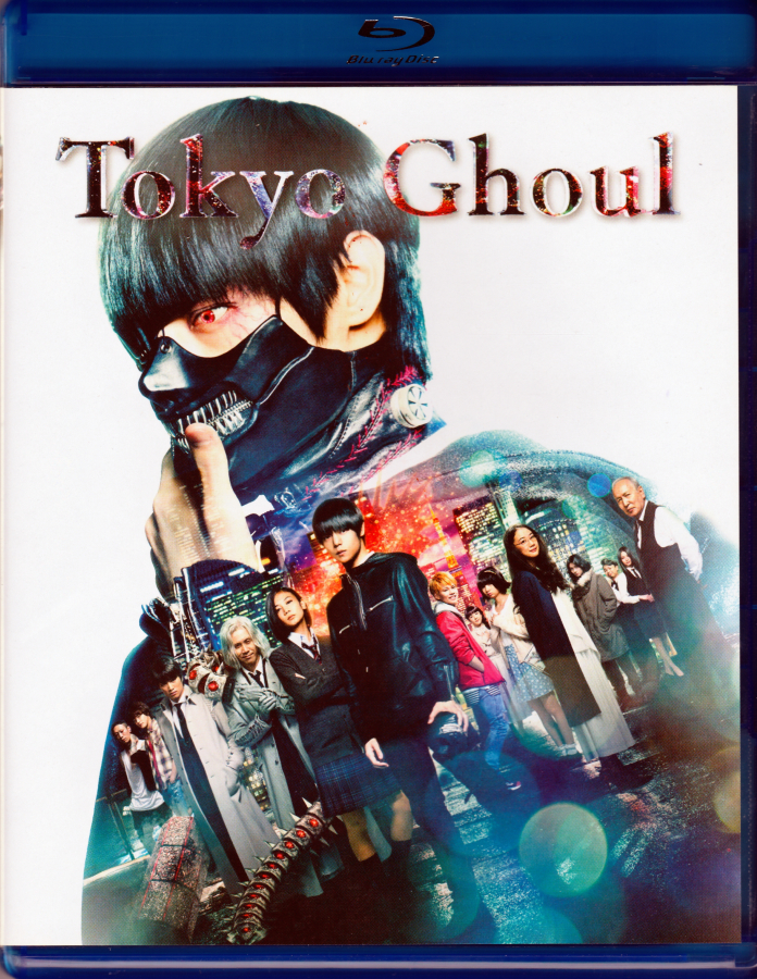 Tokyo Ghoul (2017) (Live Action Film) Region 1 DVD/Blu-Ray